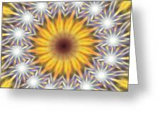 Seven Sistars Of Light K1 Greeting Card