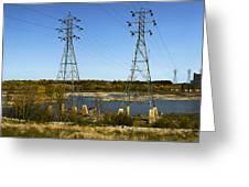 Seven Sisters Manitoba Greeting Card