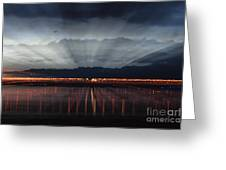 Severn Bridge Greeting Card