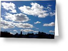 Sevilla Skyline Greeting Card