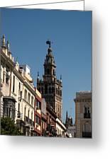 Seville - Giralda Greeting Card