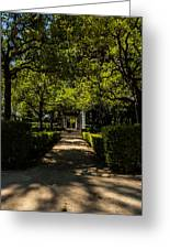 Seville - Park Maria Luisa Greeting Card