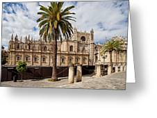 Seville Cathedral In Spain Greeting Card