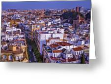 Seville Cityscape Greeting Card