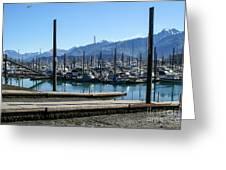 Seward Alaska Bay Greeting Card