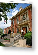 Sewickley Municipal Hall Greeting Card