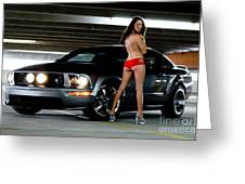 Sexy And Fast Greeting Card by Jt PhotoDesign