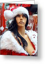 Sexy Santa Greeting Card