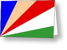 Seychelles Flag Greeting Card