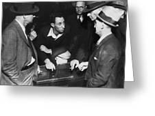 Sf Labor Leader Harry Bridges Greeting Card