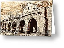 Sgf Frisco Depot Greeting Card