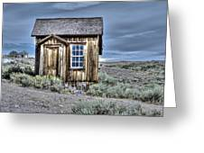 Shack At Bodie Greeting Card