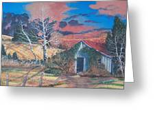 Shack Of Yesteryear Greeting Card