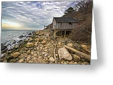 Shack On The Sound Greeting Card