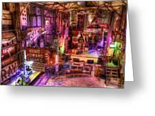 Shackup Inn Stage Greeting Card