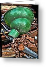 Shade And Chain Greeting Card