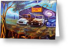 Shade Tree Hot Rods Greeting Card