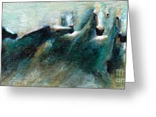Shades Of Blue Greeting Card