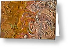 Shades Of Brown Greeting Card