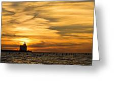 Shades Of Dawn Greeting Card