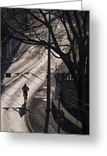 Shadow And Light Greeting Card