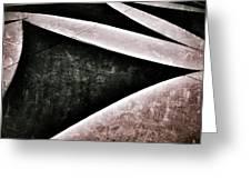Shadow Geometry Greeting Card