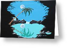Shadow Lagoon Greeting Card