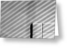 Shadow Pattern Greeting Card