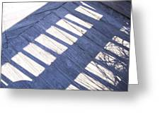 Shadow Rail Greeting Card