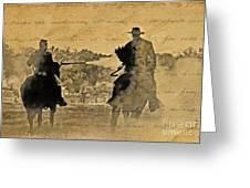 Shadow Riders Greeting Card