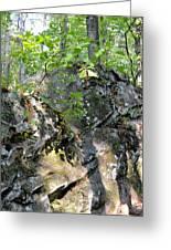 Shadow Rock Greeting Card
