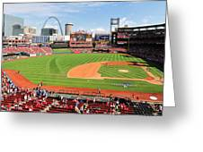 Shadows At Busch Greeting Card