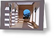 Shadows At Tuckers Point, Bermuda Greeting Card