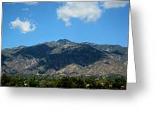Shadows Of San Gabriel Greeting Card