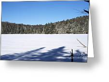 Shadows On The Lake Greeting Card