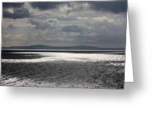 Shadows Over The Sea Greeting Card