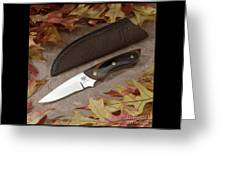 Shady Oak Knife-faa Greeting Card