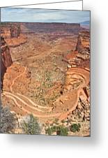 Shafer Trail Greeting Card