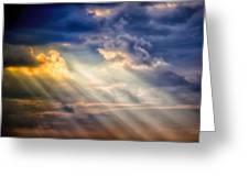 Shaft Of Light Greeting Card
