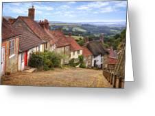 Shaftesbury - England Greeting Card