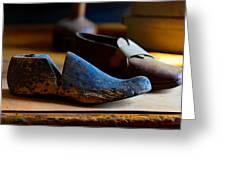 Shaker Shoe Last Greeting Card