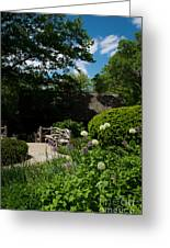 Shakespeares Garden Central Park Greeting Card