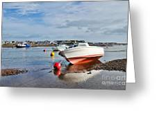 Shaldon-teignmouth Harbour 3 Greeting Card