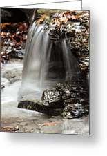 Shale Creek Waterfall Greeting Card
