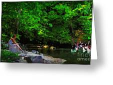 Shall We Gather At The River Greeting Card