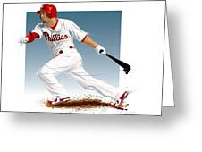Shane Victorino Greeting Card