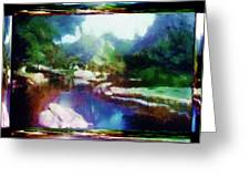 Shangri La Greeting Card
