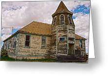 Shaniko Old Scool House Greeting Card