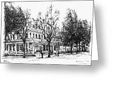 Shanley Hotel Greeting Card