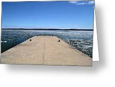 Shanty Bay Pier 2  Greeting Card